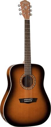 de bajo precio-Washburn-wd7s de guitarra acústica-