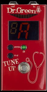 Dr. Green Tune Up Tuner Guitar Pedal