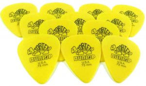 Dunlop Standard Tortex Picks 73mm