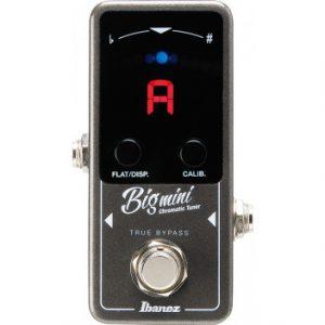 Ibanez 2017 BIGMINI Chromatic Guitar Tuner Pedal
