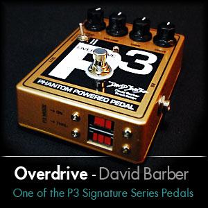 DC Voltage P3 Signature Series David Barber
