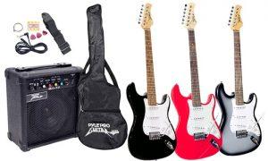 migliori kit chitarra elettrica prezzi e opinioni. Black Bedroom Furniture Sets. Home Design Ideas