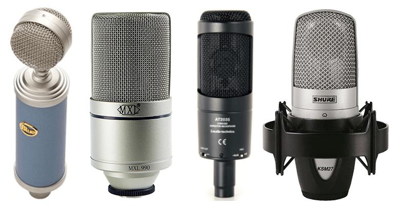 I migliori microfoni da studio xlr e usb sotto i 100€