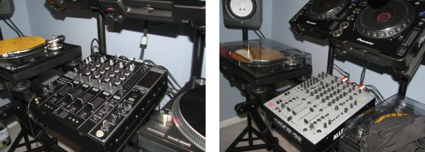 Mixer dj Allen e Heath Xone 92 vs Pioneer DJM 800