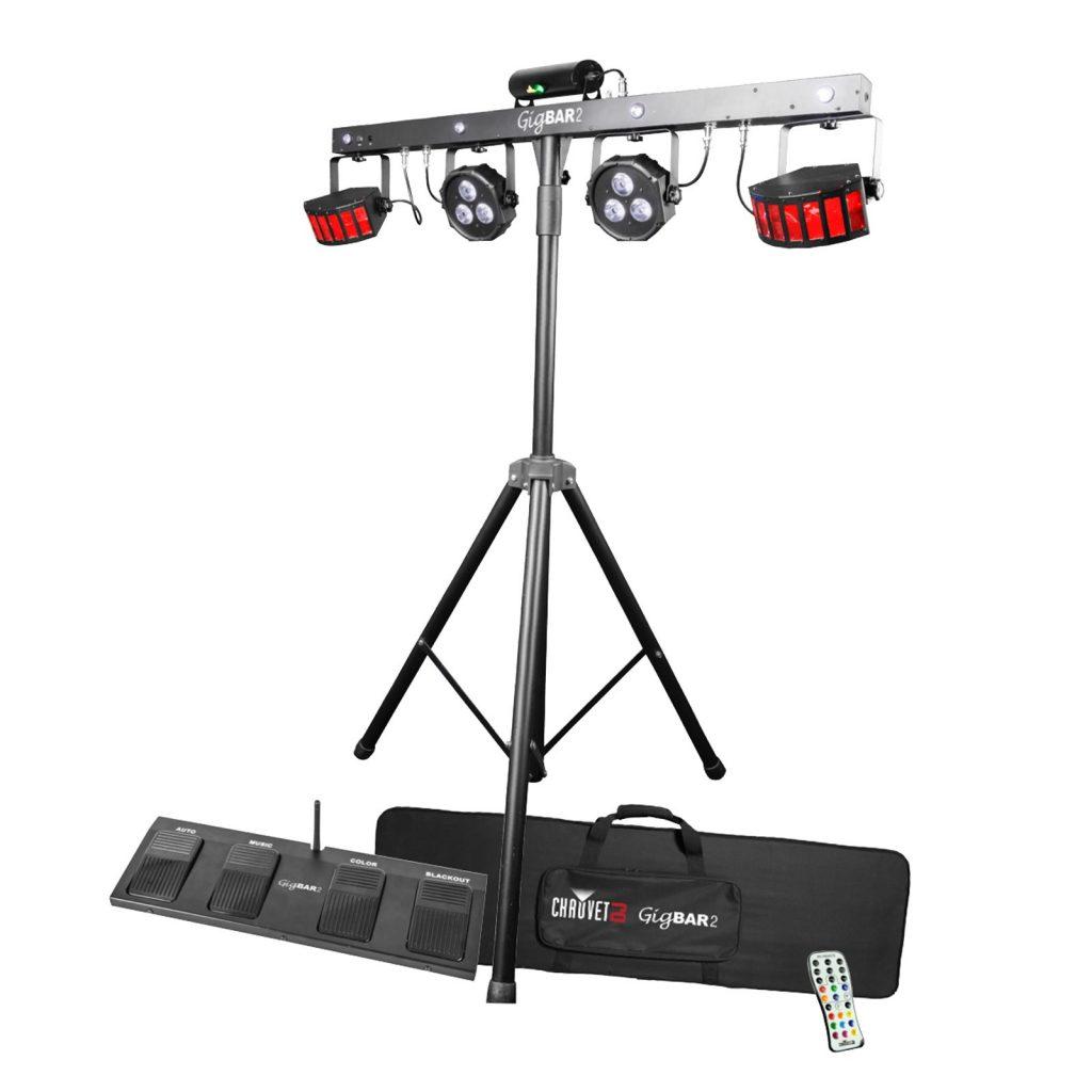 Luci dj: le migliori luci da palco e luci discoteca