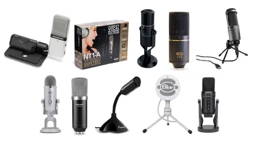 Best budget microphones for home studio