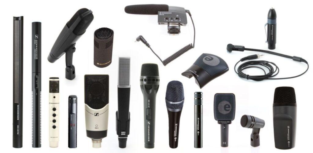 I migliori microfoni sennheiser, guida all'acquisto