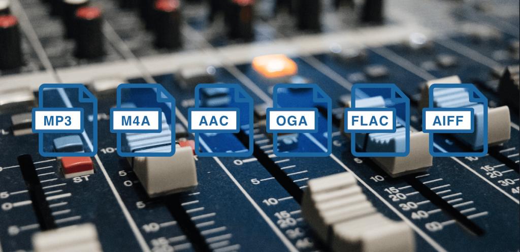 Quali sono i migliori formati audio e codec?